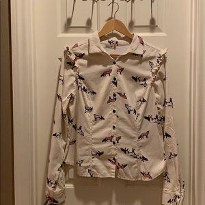 Velvet Fox Shirt